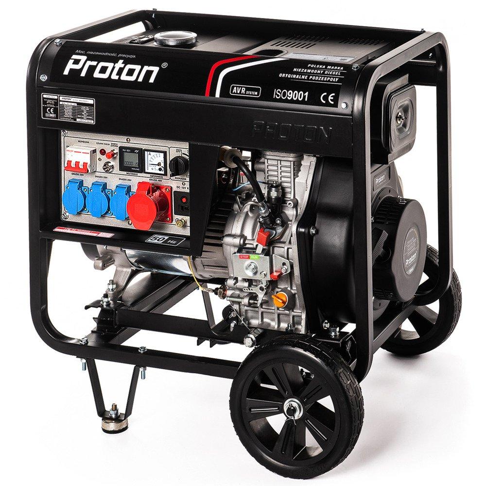 Młodzieńczy Oszczędny agregat prądotwórczy diesel Proton 3, 6800 Watt - 7kw TN74
