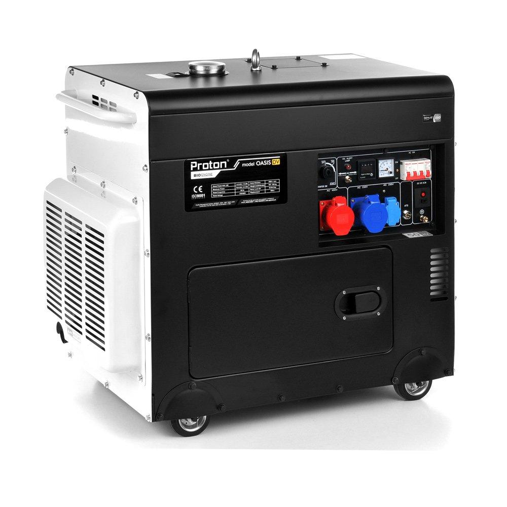 Modernistyczne Cichy agregat prądotwórczy Proton Polska Oasis Plus 360 - 8.5kW TS02